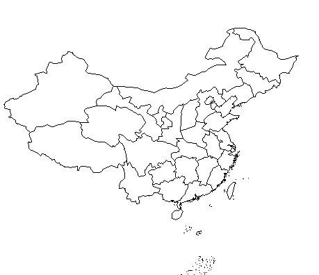 地图 简笔画 手绘 线稿 459_396