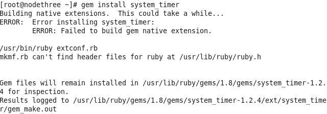 gem install system_timer报错解决- NoSQL及其应用-炼数成金