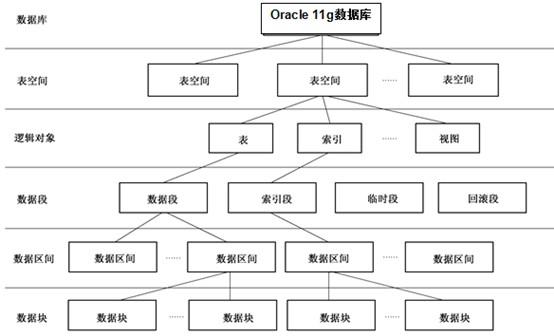 oracle的逻辑结构
