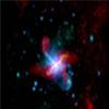 观测揭晓巨大星系起源于两个古老星系碰撞