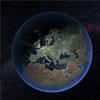 """科学家绘制地球上精美的""""交通网络系统"""""""