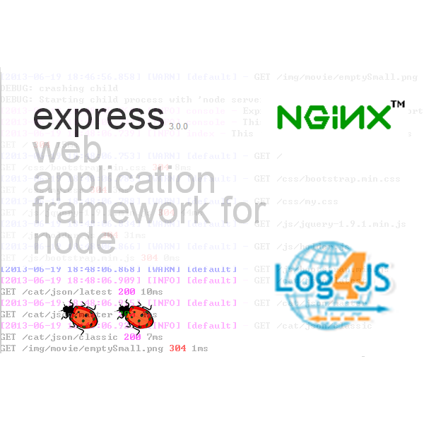 Nginx反向代理Nodejs – log4js日志IP显示错误