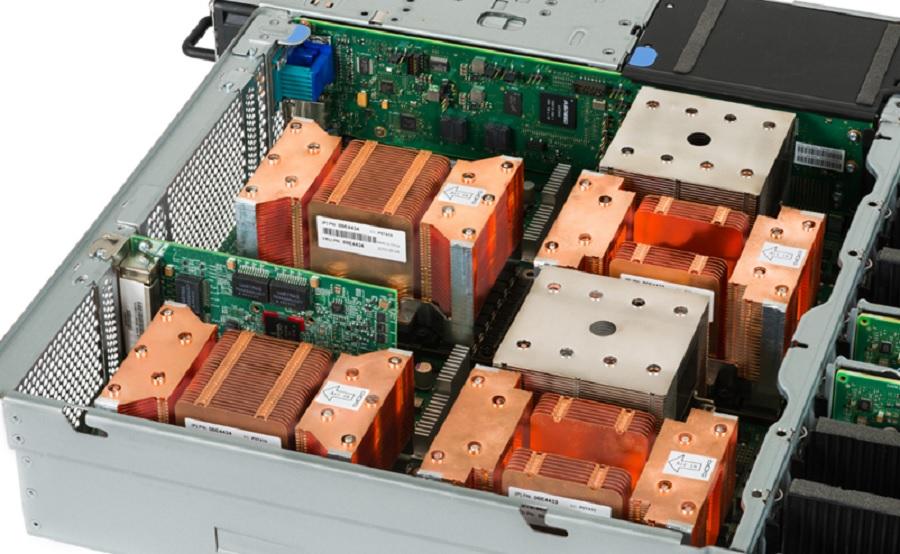 IBM Linux server for high-performance computing.