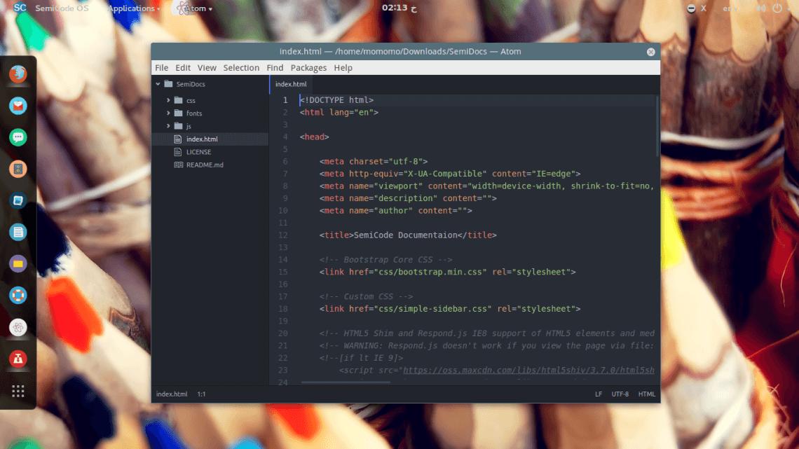 Semicode Linux 操作系统