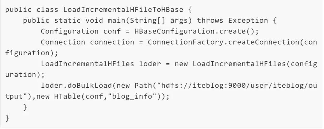 通过BulkLoad快速将海量数据导入到Hbase - Hadoop-炼数成金
